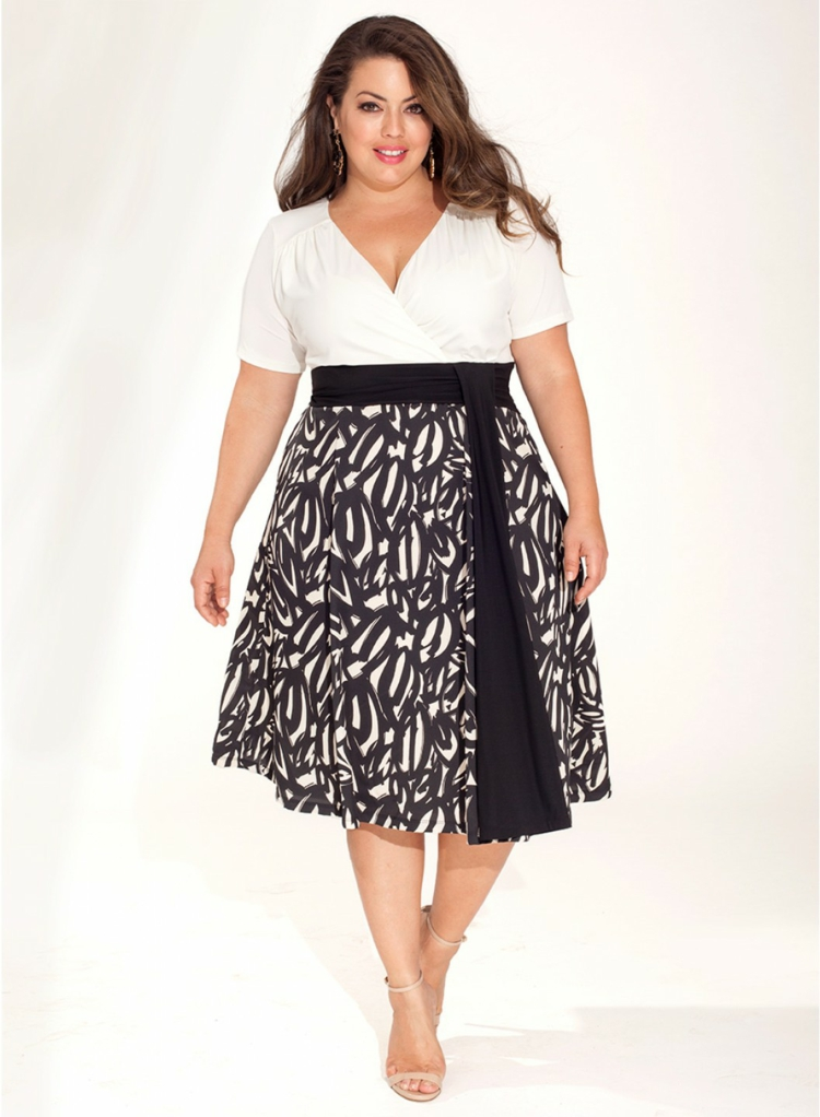 Φορέματα σε μεγάλα μεγέθη - μόδα για γυναίκες με καμπύλες24