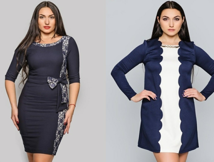 Φορέματα σε μεγάλα μεγέθη - μόδα για γυναίκες με καμπύλες26