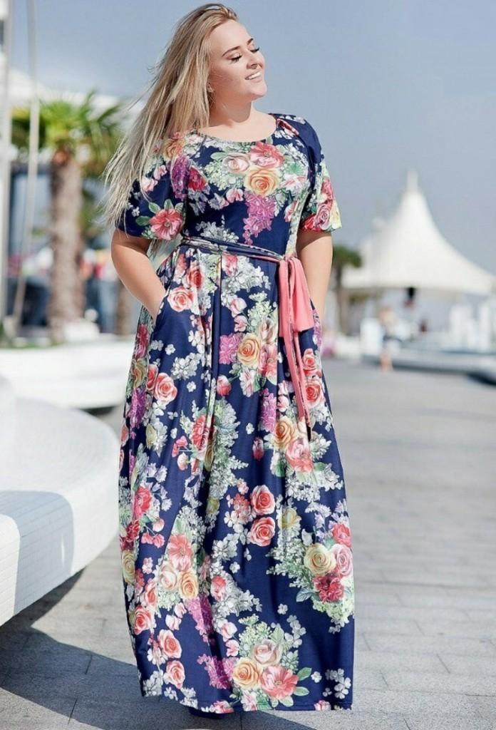 Φορέματα σε μεγάλα μεγέθη - μόδα για γυναίκες με καμπύλες28