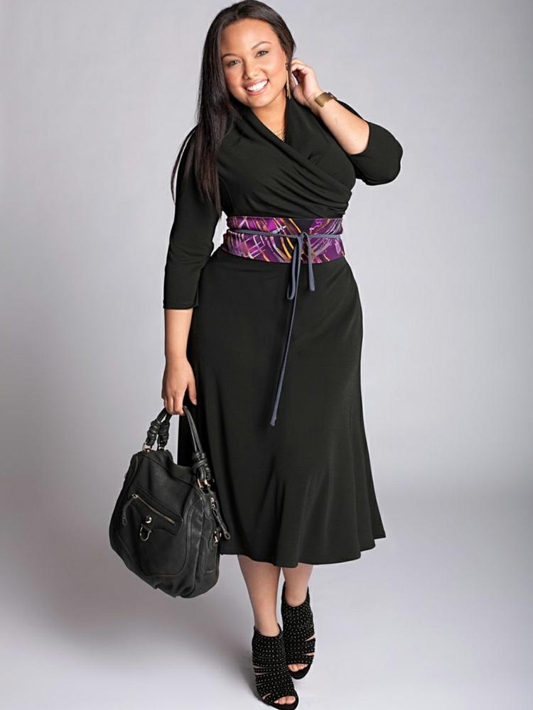 Φορέματα σε μεγάλα μεγέθη - μόδα για γυναίκες με καμπύλες32