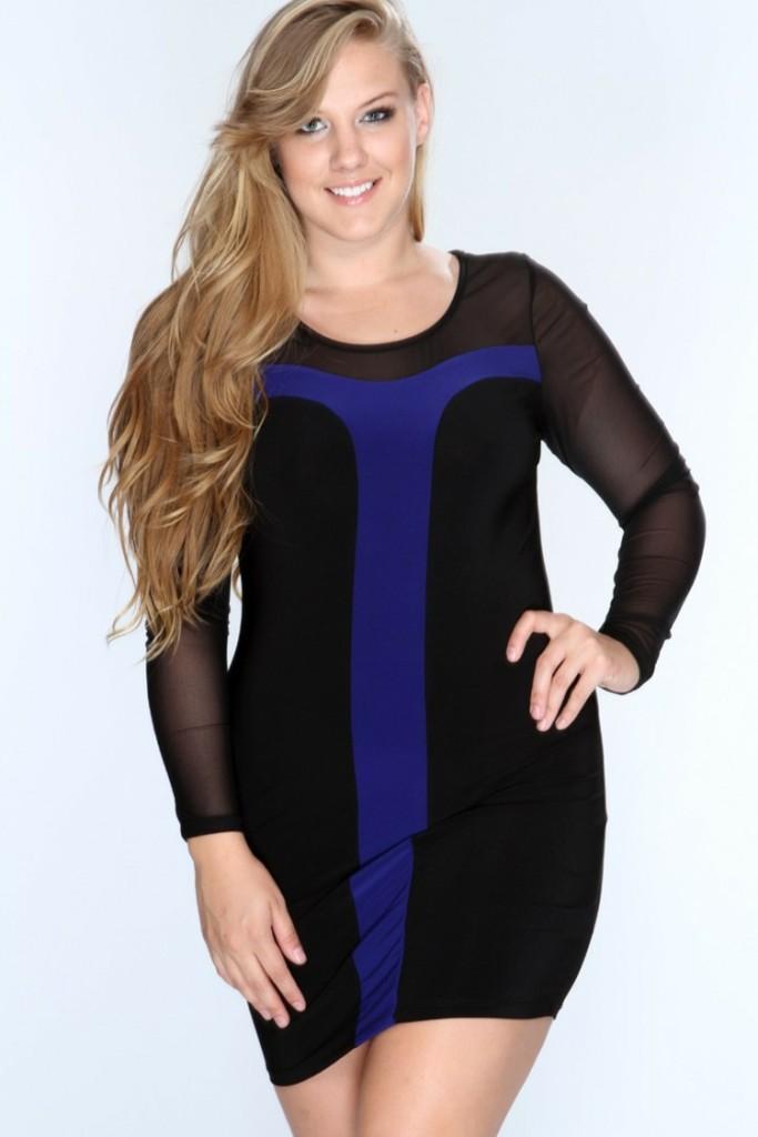 Φορέματα σε μεγάλα μεγέθη - μόδα για γυναίκες με καμπύλες34