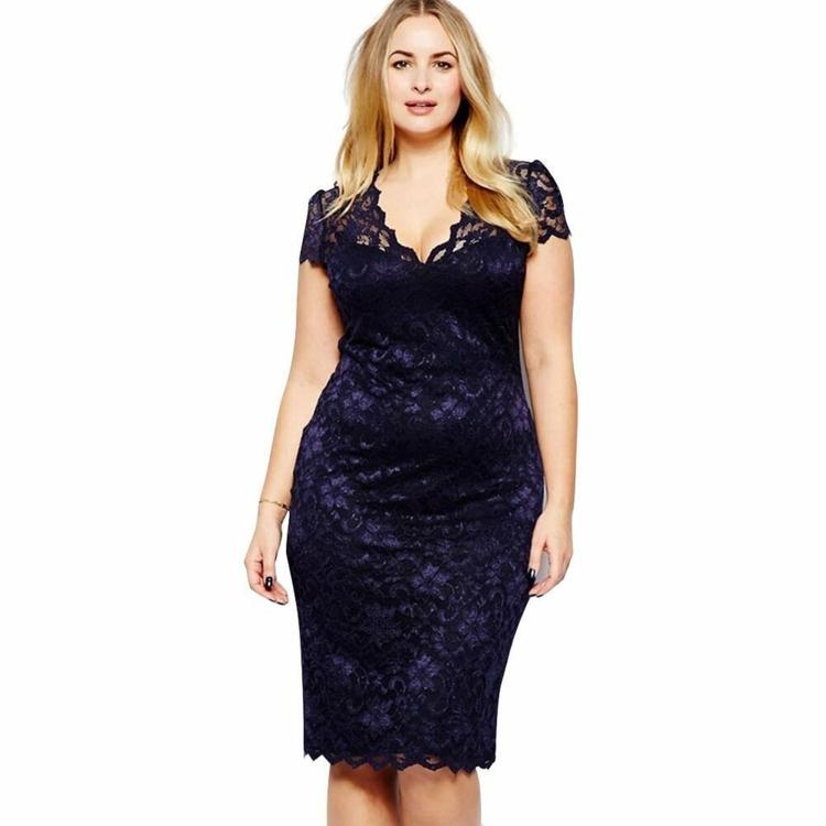 Φορέματα σε μεγάλα μεγέθη - μόδα για γυναίκες με καμπύλες35