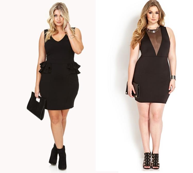 Φορέματα σε μεγάλα μεγέθη - μόδα για γυναίκες με καμπύλες37