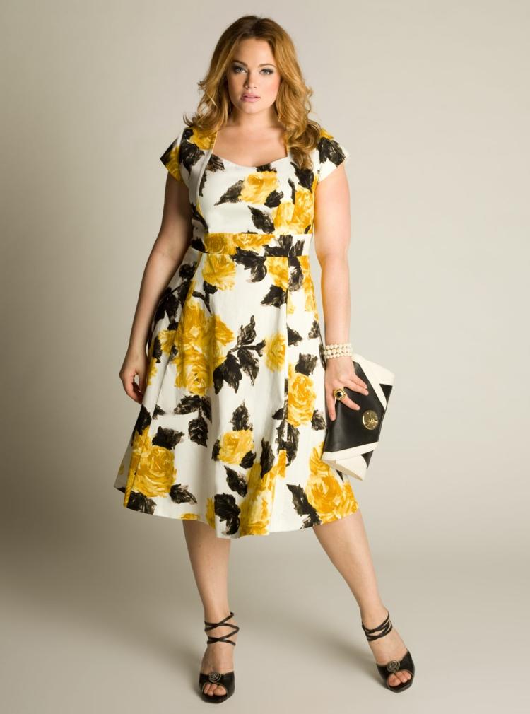 Φορέματα σε μεγάλα μεγέθη - μόδα για γυναίκες με καμπύλες39