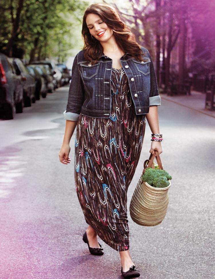 Φορέματα σε μεγάλα μεγέθη - μόδα για γυναίκες με καμπύλες6
