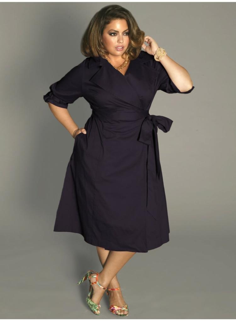 Φορέματα σε μεγάλα μεγέθη - μόδα για γυναίκες με καμπύλες9