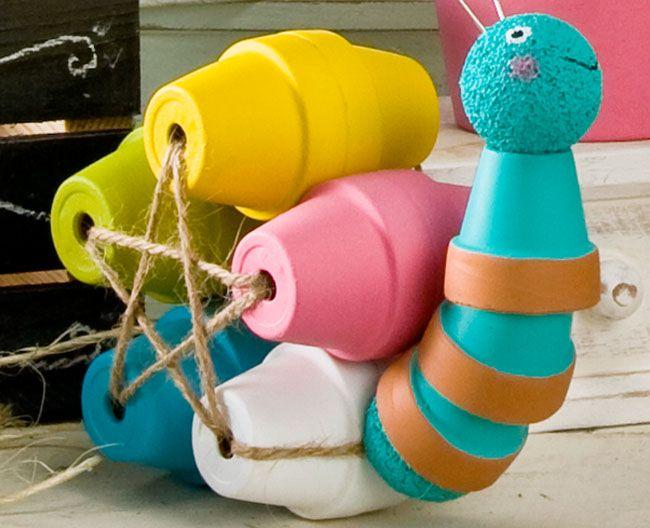 διασκεδαστικές κατασκευές με γλάστρες για τον κήπο12