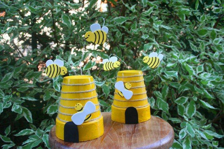 διασκεδαστικές κατασκευές με γλάστρες για τον κήπο16