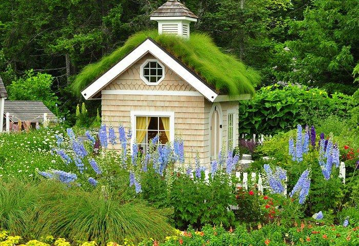 μικρό σπιτάκι κήπου ιδέες4
