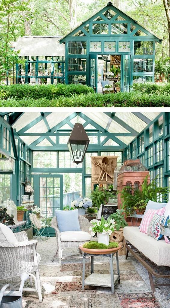 μικρό σπιτάκι κήπου ιδέες5