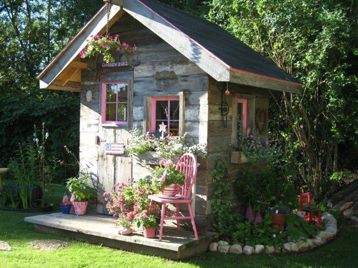 μικρό σπιτάκι κήπου ιδέες6