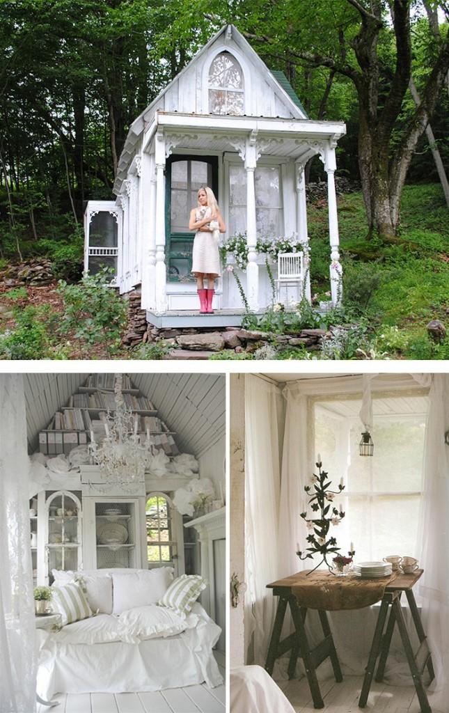 μικρό σπιτάκι κήπου ιδέες7