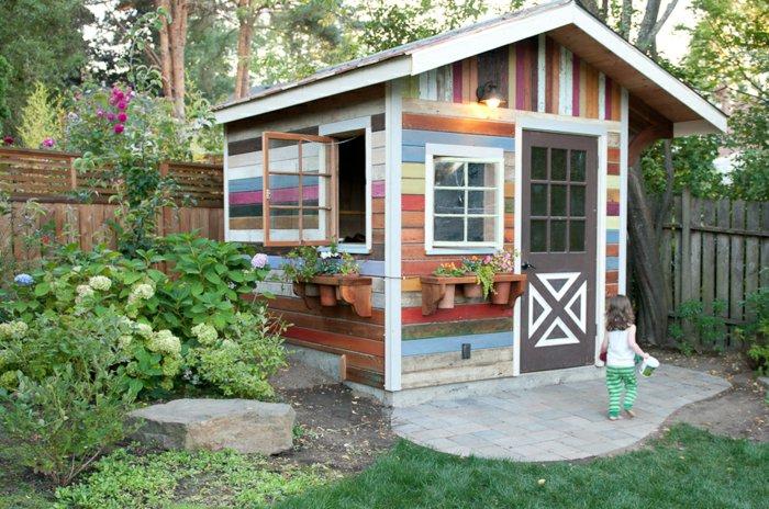 μικρό σπιτάκι κήπου ιδέες9