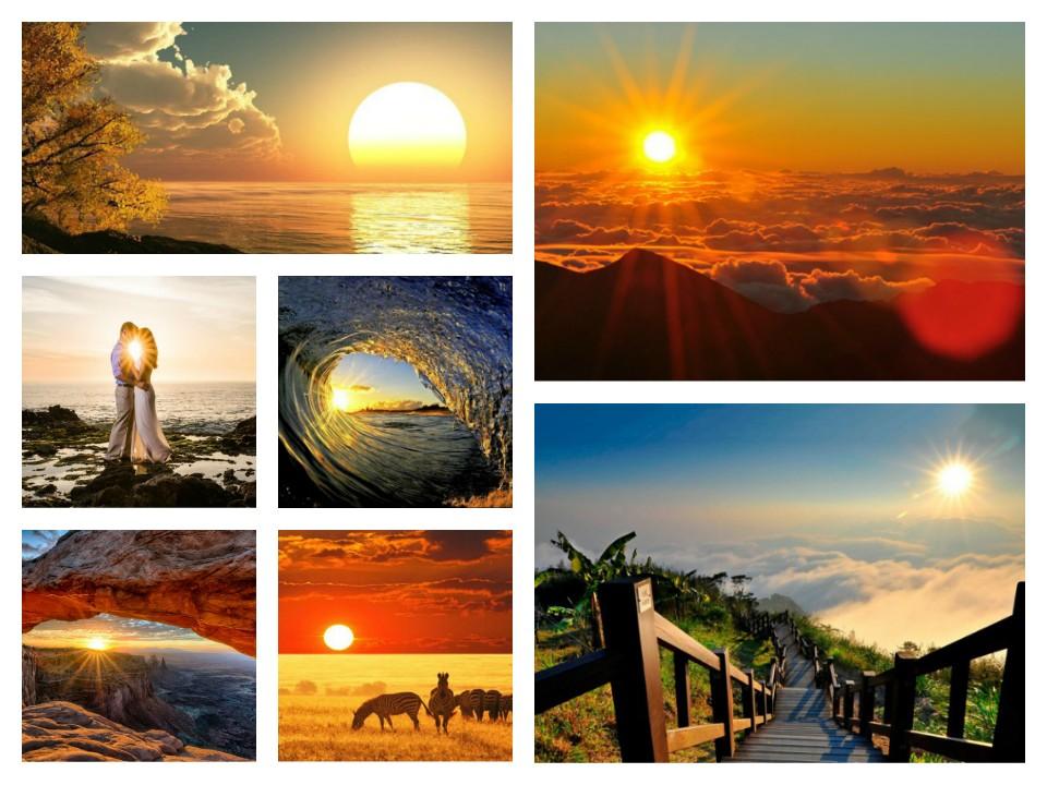 ομορφιά του ανατέλλοντος ηλίου