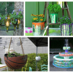 Diy έργα για τον κήπο
