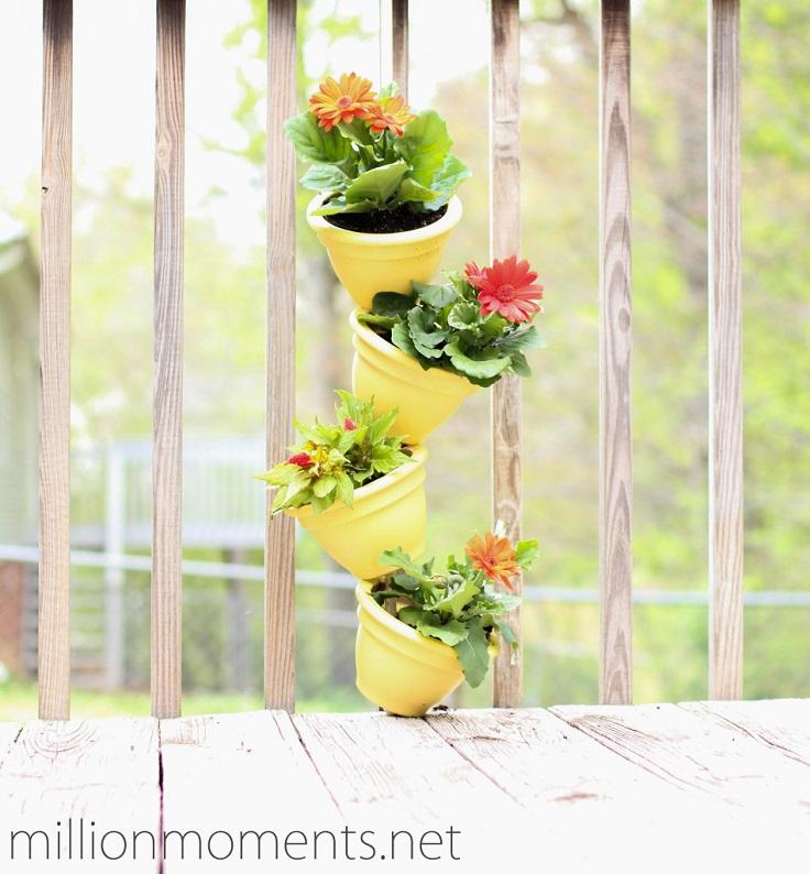 Ιδέες DIY Κάθετου κήπου1