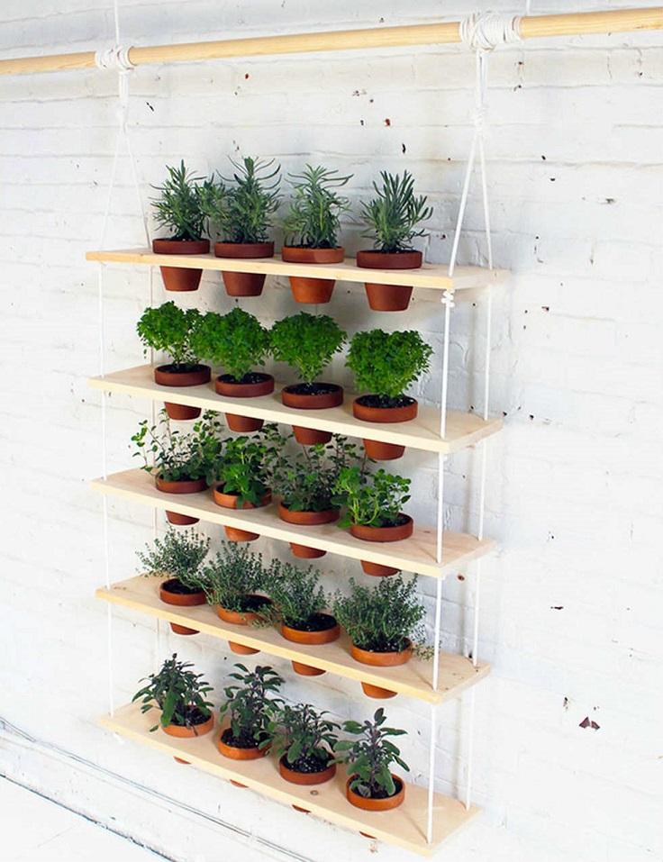 Ιδέες DIY Κάθετου κήπου3