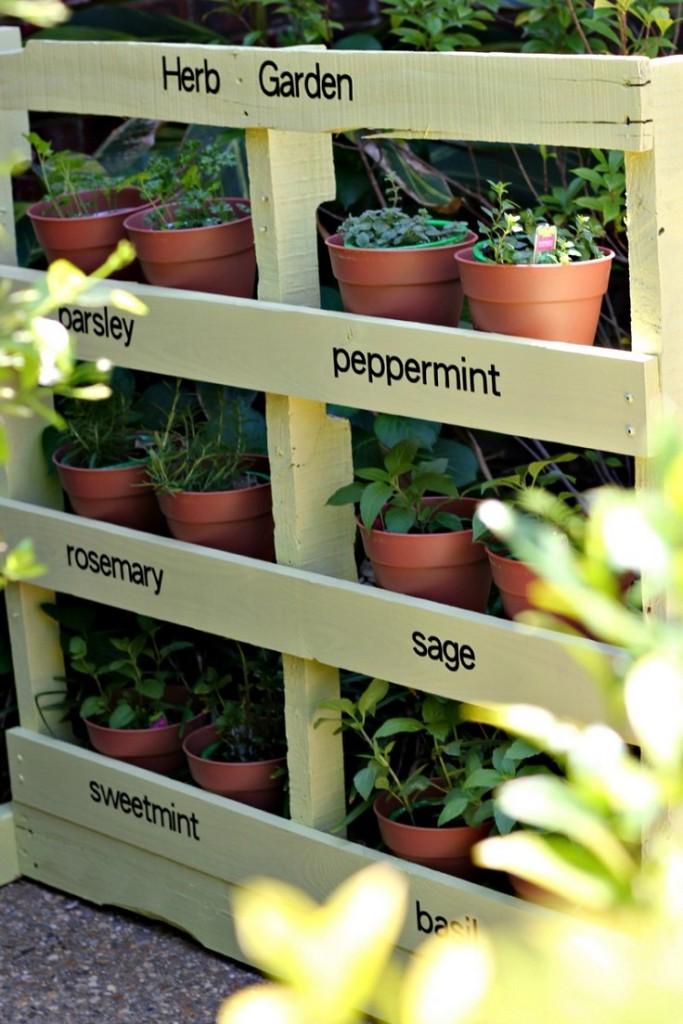 Ιδέες DIY Κάθετου κήπου4
