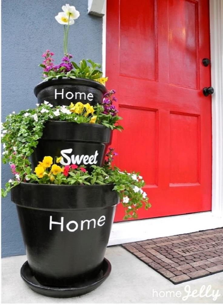 Ιδέες DIY Κάθετου κήπου6