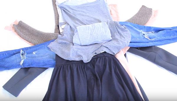 Μάθετε πώς να πακετάρετε τα ρούχα στην βαλίτσα σας σαν επαγγελματίας