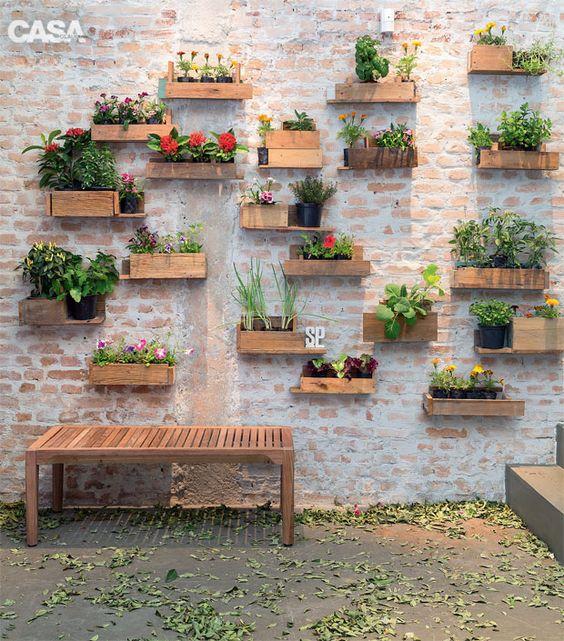ιδέες διακόσμησης κάθετων επιφανειών με φυτά14
