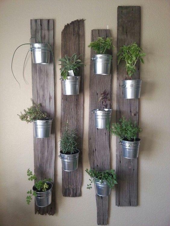 ιδέες διακόσμησης κάθετων επιφανειών με φυτά4