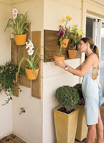 ιδέες διακόσμησης κάθετων επιφανειών με φυτά5