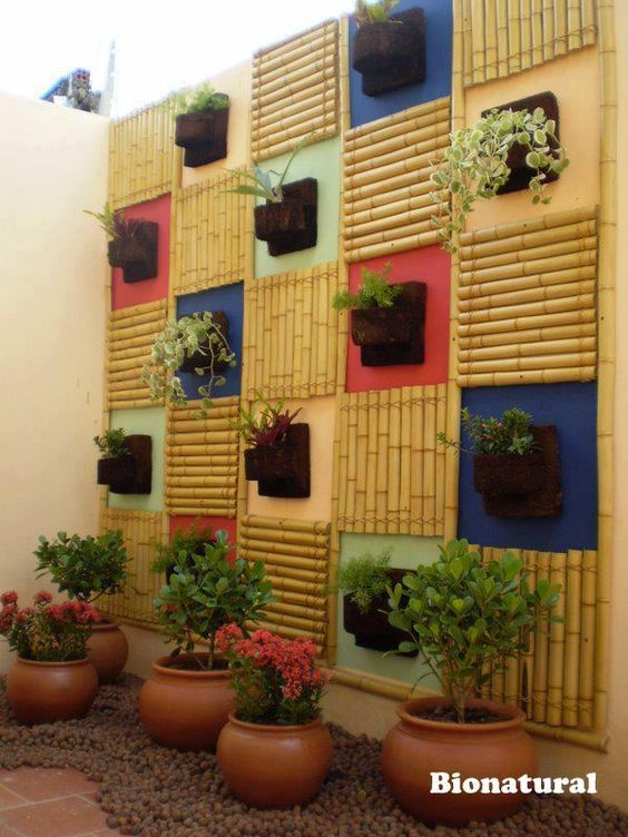 ιδέες διακόσμησης κάθετων επιφανειών με φυτά7