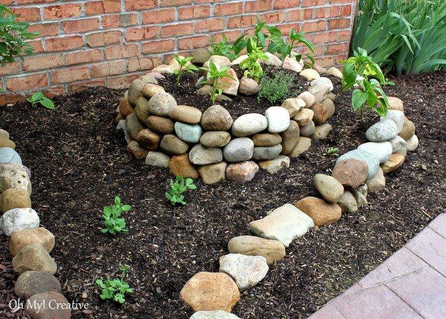 πέτρινες διακοσμήσεις κήπου1