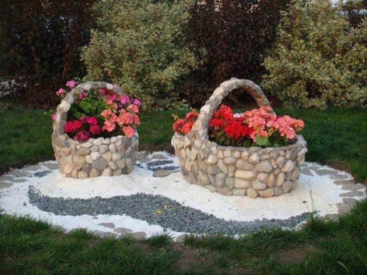 πέτρινες διακοσμήσεις κήπου15