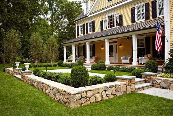 πέτρινες διακοσμήσεις κήπου2