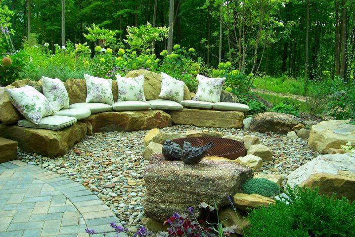 πέτρινες διακοσμήσεις κήπου6