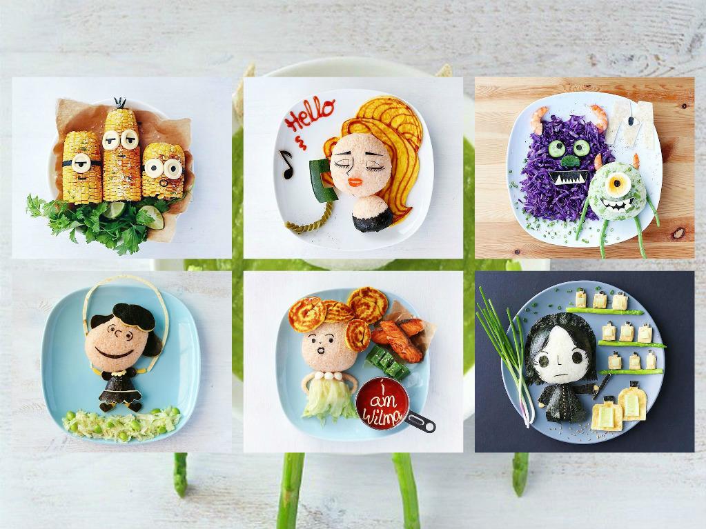πορτρέτα από τρόφιμα