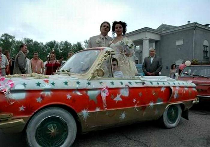 πρωτότυποι τρόποι για να πάει μια νύφη στο γάμο10