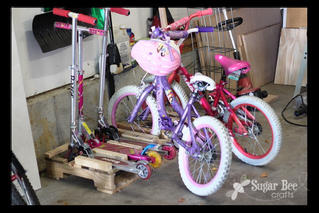 Diy Ιδέες για στάντ ποδηλάτου12