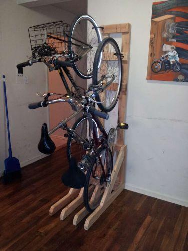 Diy Ιδέες για στάντ ποδηλάτου16
