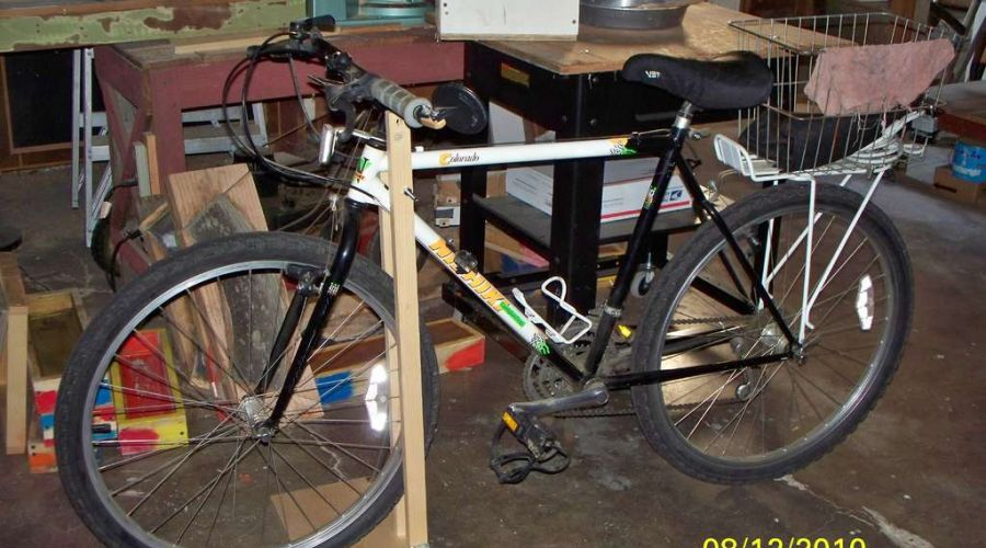 Diy Ιδέες για στάντ ποδηλάτου20