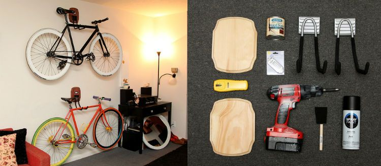 Diy Ιδέες για στάντ ποδηλάτου5
