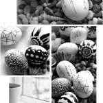 Ασπρόμαυρα Πασχαλινά αυγά14