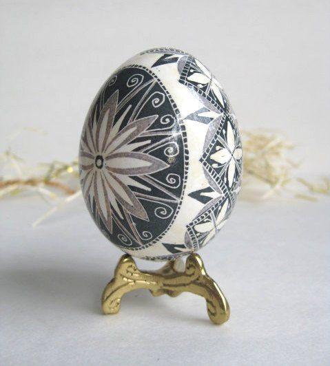 Ασπρόμαυρα Πασχαλινά αυγά15