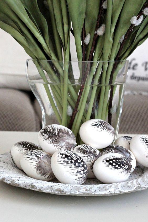 Ασπρόμαυρα Πασχαλινά αυγά20