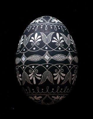 Ασπρόμαυρα Πασχαλινά αυγά6