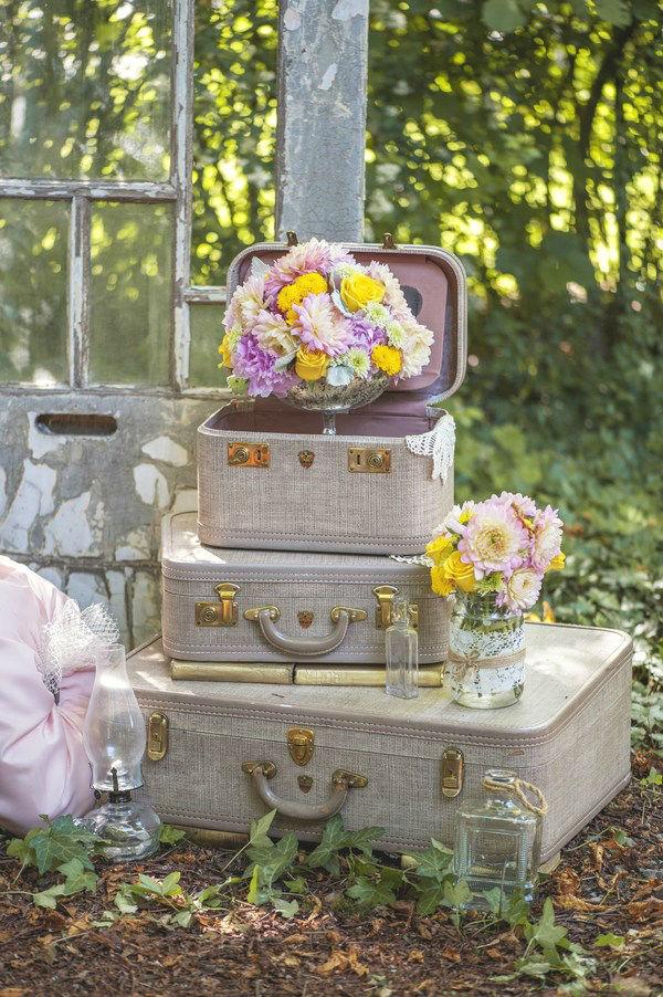 Ρουστίκ ιδέες διακόσμησης γάμου23