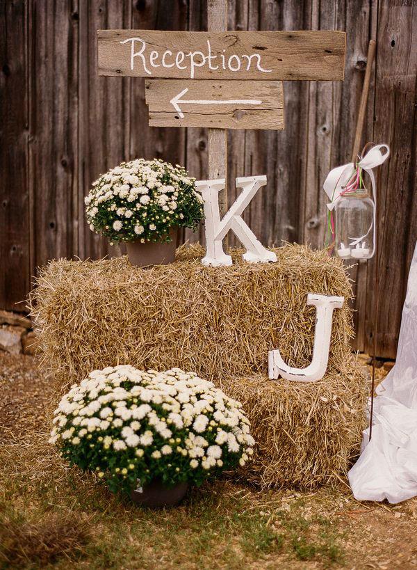 Ρουστίκ ιδέες διακόσμησης γάμου25