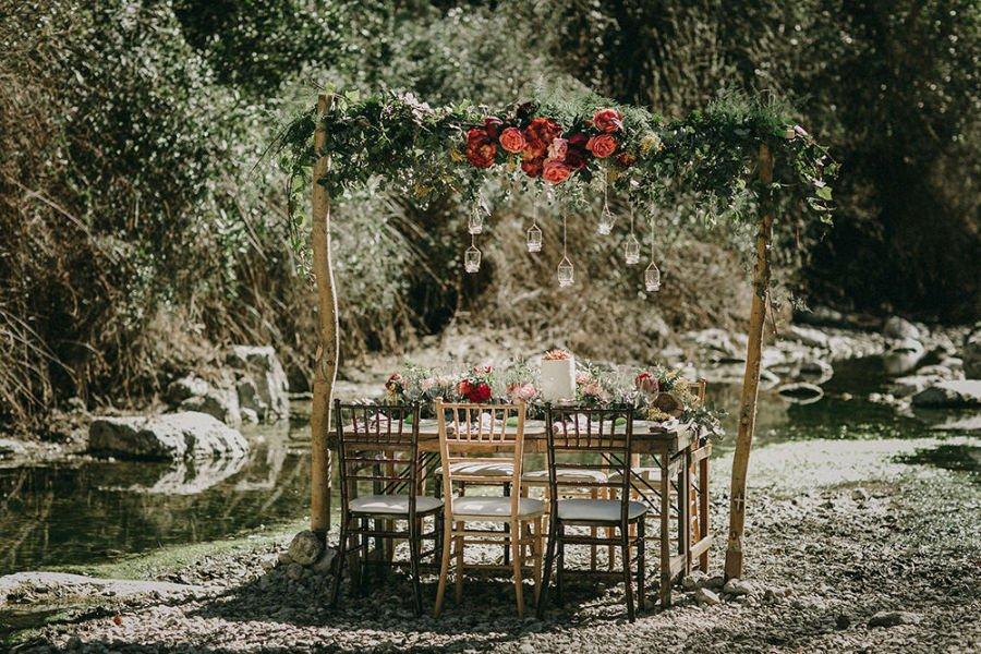 Ρουστίκ ιδέες διακόσμησης γάμου6