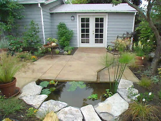 μικρές λιμνούλες στον κήπο3