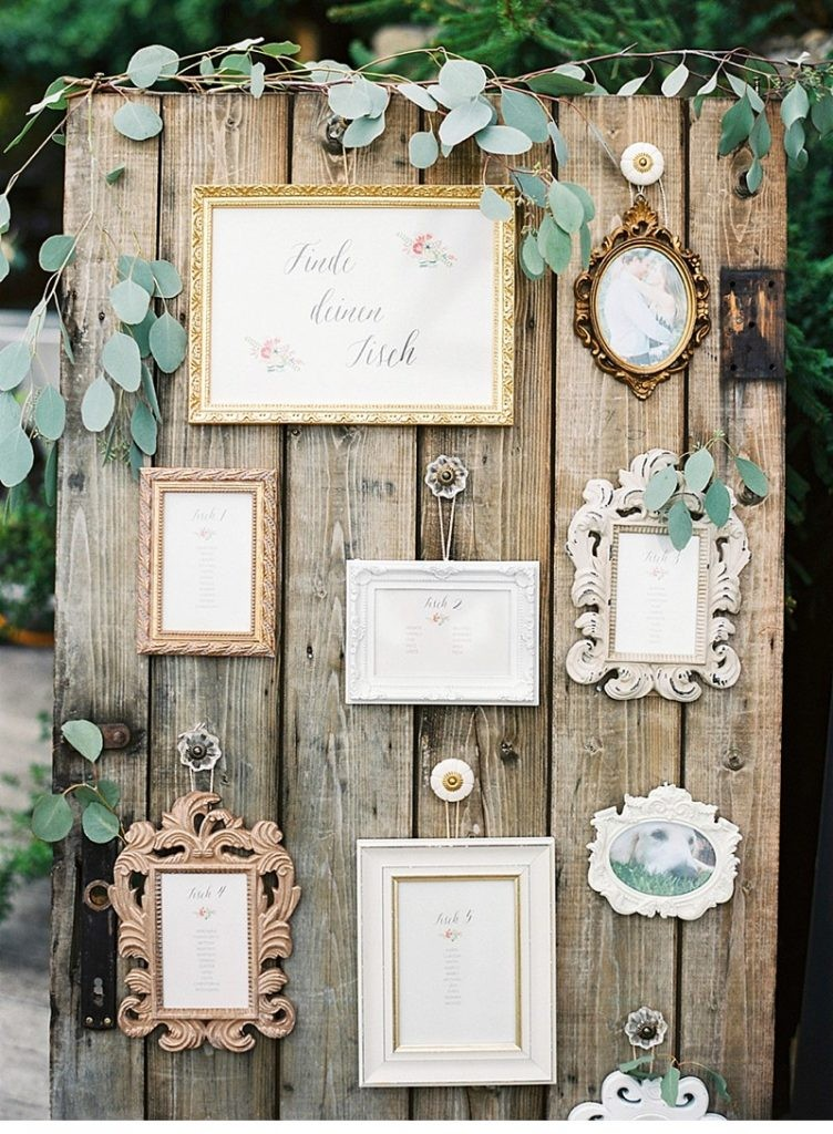 DIY ρουστίκ decor γάμου από παλέτες9