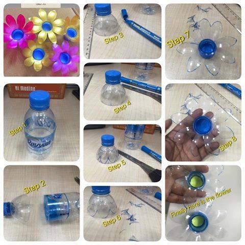diy ιδέες με πλαστικά μπουκάλια23