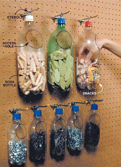 diy ιδέες με πλαστικά μπουκάλια25