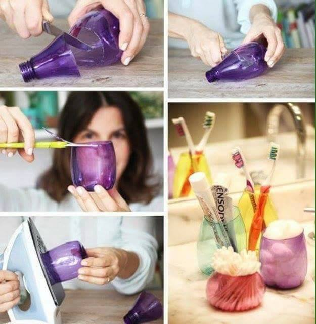diy ιδέες με πλαστικά μπουκάλια28